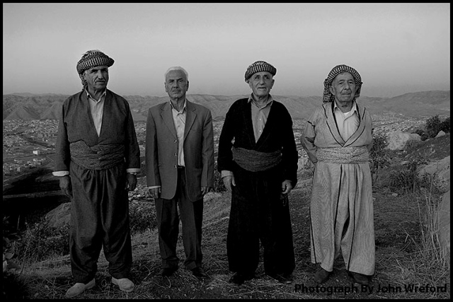 Proud Men On A Kurdish Mountain