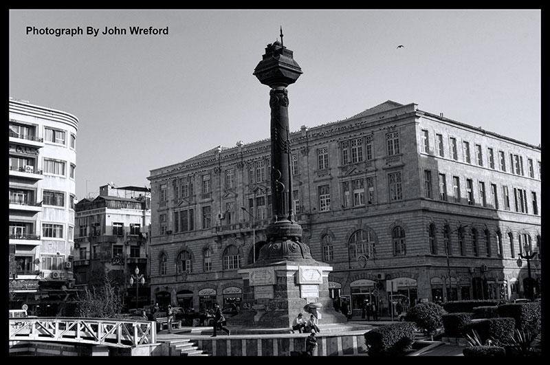 Merjeh Square Damascus Syria